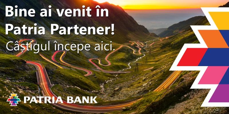 Patria Partener, platforma de recomandari credite a Patria Bank, este disponibila acum si pentru recomandari persoane fizice