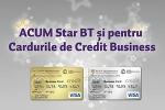 Cardurile business Banca Transilvania sunt incluse in programul de loialitatate Star BT