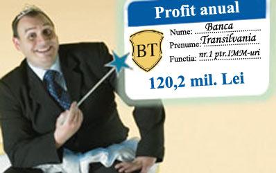 Zanul Bancii Transilvania face minuni
