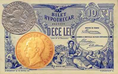 Leul romanesc, de la romanat la euro