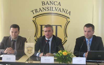 La Banca Transilvania, timpul face toti banii