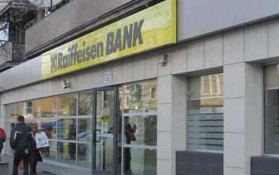 Raiffeisen, lider de pret la credite in lei si economiile in euro