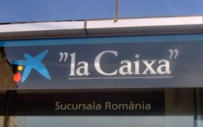 La Caixa se pregateste sa-si deschida sucursala din Romania in Piata Victoriei