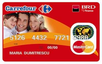 Noul card BRD-Carrefour: promotiile au si ele un pret