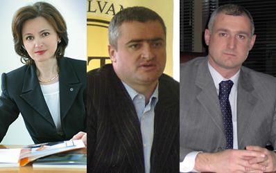 Bordea, Patrahau si Piti, cei mai apreciati bancheri