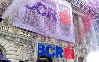 Profitul BCR creste cu 22,3% in 2007, la 276,5 mil. euro