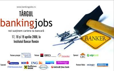 3.000 de joburi bancare la Targul BankingJobs