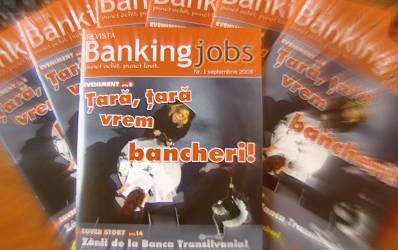 A aparut Revista BankingJobs