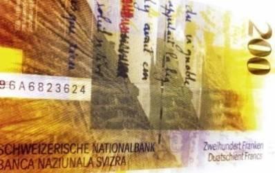Bancile ies din afacerea cu franci elvetieni
