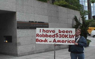 Bank of America a inselat nu numai clienti ci si alte banci
