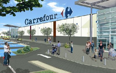 Carrefour isi face banca!