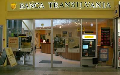 Jaf armat la Banca Transilvania