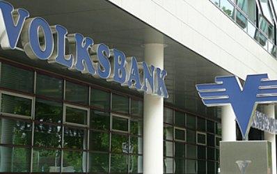 Volksbank: Avansul creditelor in ianuarie a fost de 40 de ori mai mic decat anul trecut