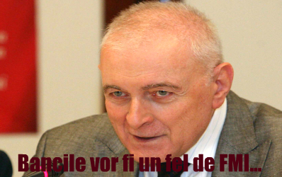 Vasilescu: Bancile nu vor mai da bani cu sacul