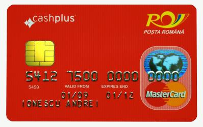 Primele carduri prepaid cashplus emise de Posta Romana sunt disponibile in Bucuresti