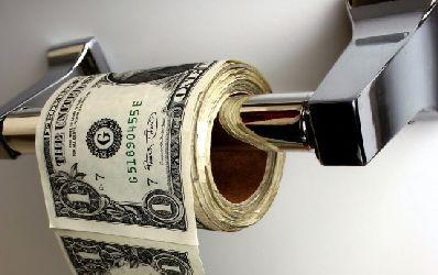 De doua ori mai multi bani albi pentru credite negre