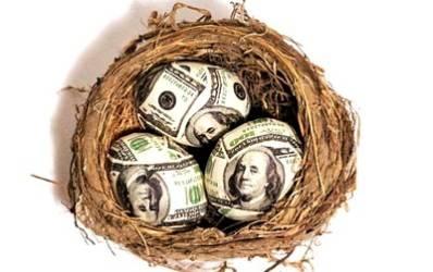 Depozitele bancare au crescut pentru a sasea luna la rand