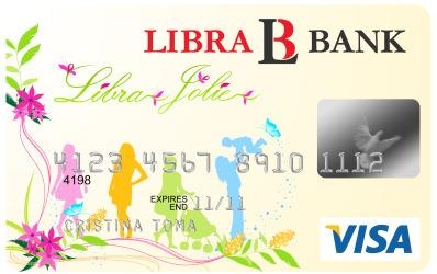 Card bancar exclusiv pentru femei