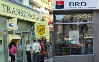 Cat valoreaza brandurile BRD si Banca Transilvania