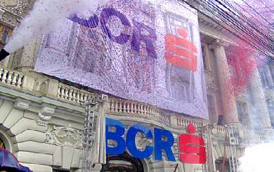 Criza si provizioanele si-au spus cuvantul in rezultatele BCR din 2009