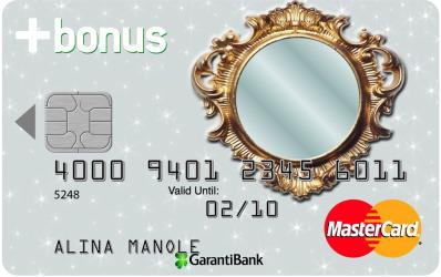 O noua inovatie pentru femei: cardul de credit cu oglinda