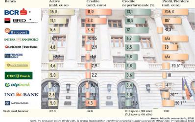 Topul bancilor dupa nivelul creditelor neperformante