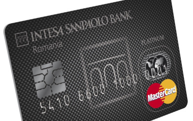 Intesa Sanpaolo Bank lanseaza Platinum MasterCard din fibra de carbon