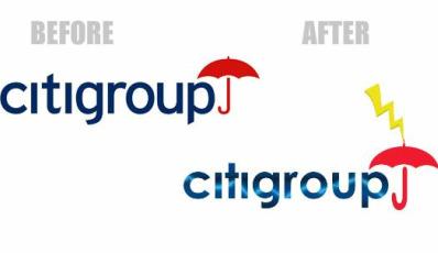Pamflet: Efectele crizei financiare asupra logo-urilor companiilor