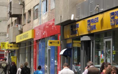 Topul bancilor in primele 15 orase din Romania