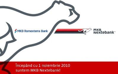 Un nou rebranding pe piata bancara romaneasca: MKB Nextebank