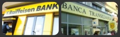 Raiffeisen Bank cu creditarea, Banca Transilvania cu economisirea