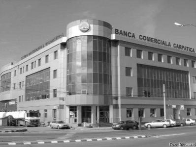 Banca Comerciala Carpatica si-a redus cu aproape 80% pierderile
