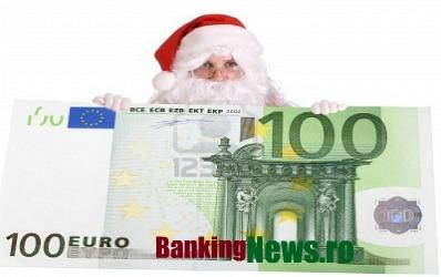 Ce curs aduce Mos Craciun: 4,2- 4,3 lei pentru un euro