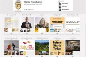 BT, prima banca din Romania cu profil in reteaua de socializare Pinterest