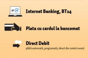 Banca Transilvania incurajeaza folosirea metodelor alternative de plata a facturilor – 1.000 de premii a cate 100 de lei –