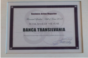 Banca Transilvania, desemnata – Retail Bank of the Year –