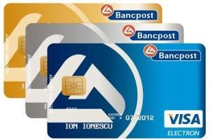 Bancpost a avut in 2012 cea mai puternica crestere neta a portofoliului de carduri de credit Visa