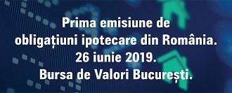 Alpha Bank Romania a listat la  Bursa de Valori din Bucuresti prima emisiune de obligatiuni ipotecare din Romania