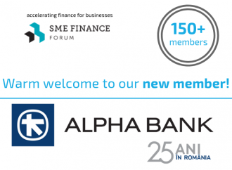 ALPHA BANK ROMANIA A DEVENIT CEL MAI NOU MEMBRU AL SME FINANCE FORUM
