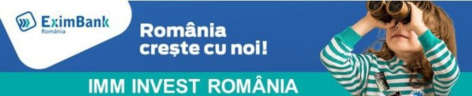 EximBank participa la programul IMM INVEST ROMANIA